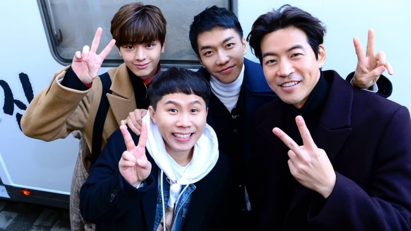 New Variety Show Starring Yook Sungjae, Lee Seung Gi, Yang Se Hyung, And Lee Sang Yoon Confirms Air Date