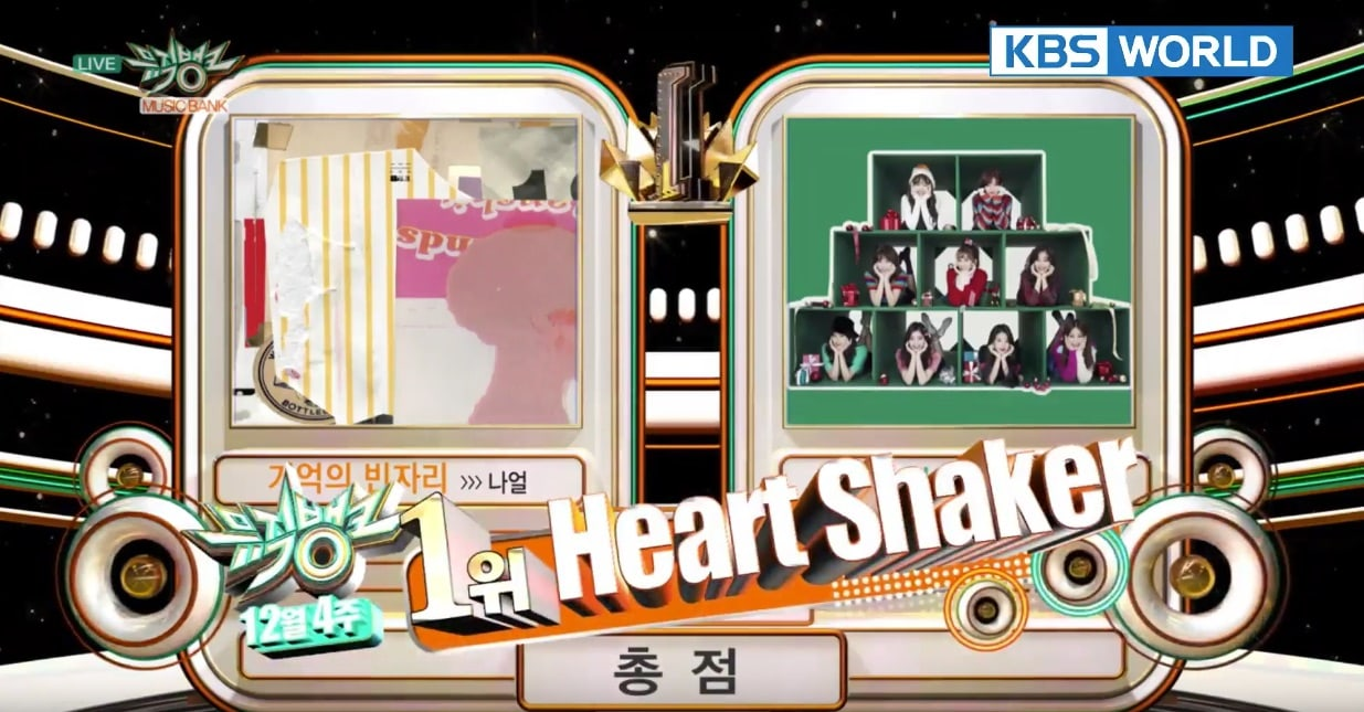 "Watch: TWICE Gets 2nd Win For ""Heart Shaker"" On ""Music Bank,"" Performances By B.A.P, MONSTA X, PENTAGON, And More"