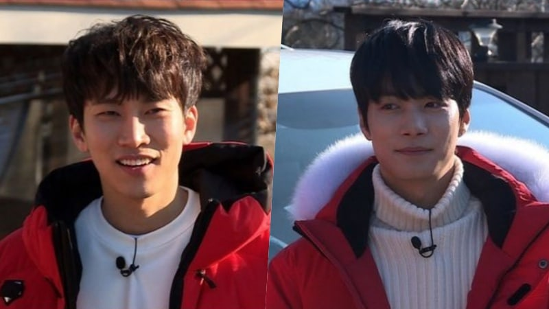 "BTOB's Eunkwang And NU'EST's JR Brave Cold Waters To Win In New Stills For SBS's ""Master Key"""