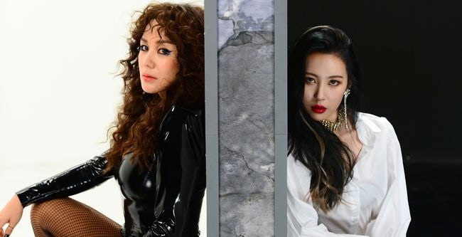 Updated: Uhm Jung Hwa X Sunmi 2017 SBS Gayo Daejun Collab Teasers Revealed