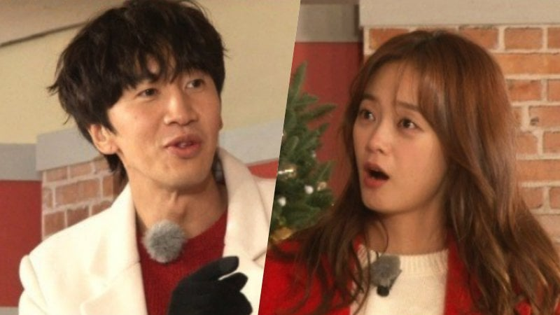 "Lee Kwang Soo Hilariously Accuses Jun So Min Of Faking On ""Running Man"""
