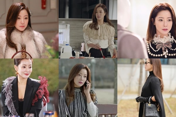 Also Equally Fashionable Is Kim Sun Ah Who Played The Role Of Park Bok Ja A Mysterious Woman Suddenly Appears In Jins Life