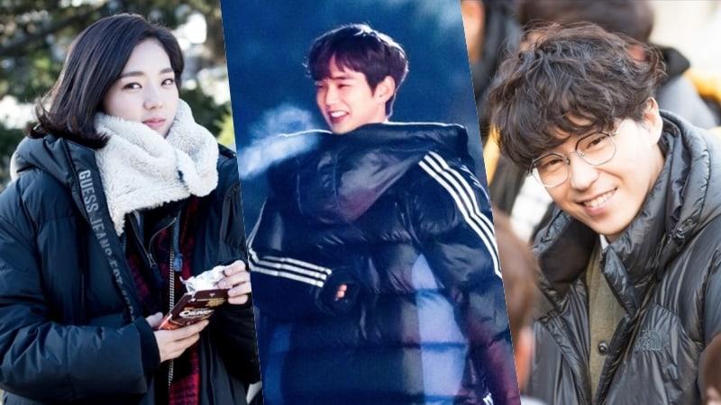 """I Am Not A Robot"" Shares How Yoo Seung Ho, Chae Soo Bin, And Uhm Ki Joon Stay Warm On Set"