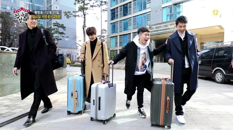 "Watch: Lee Sang Yoon, Yook Sungjae, Yang Se Hyung, And Lee Seung Gi Laugh And Cry Together In ""All The Butlers"" Preview"