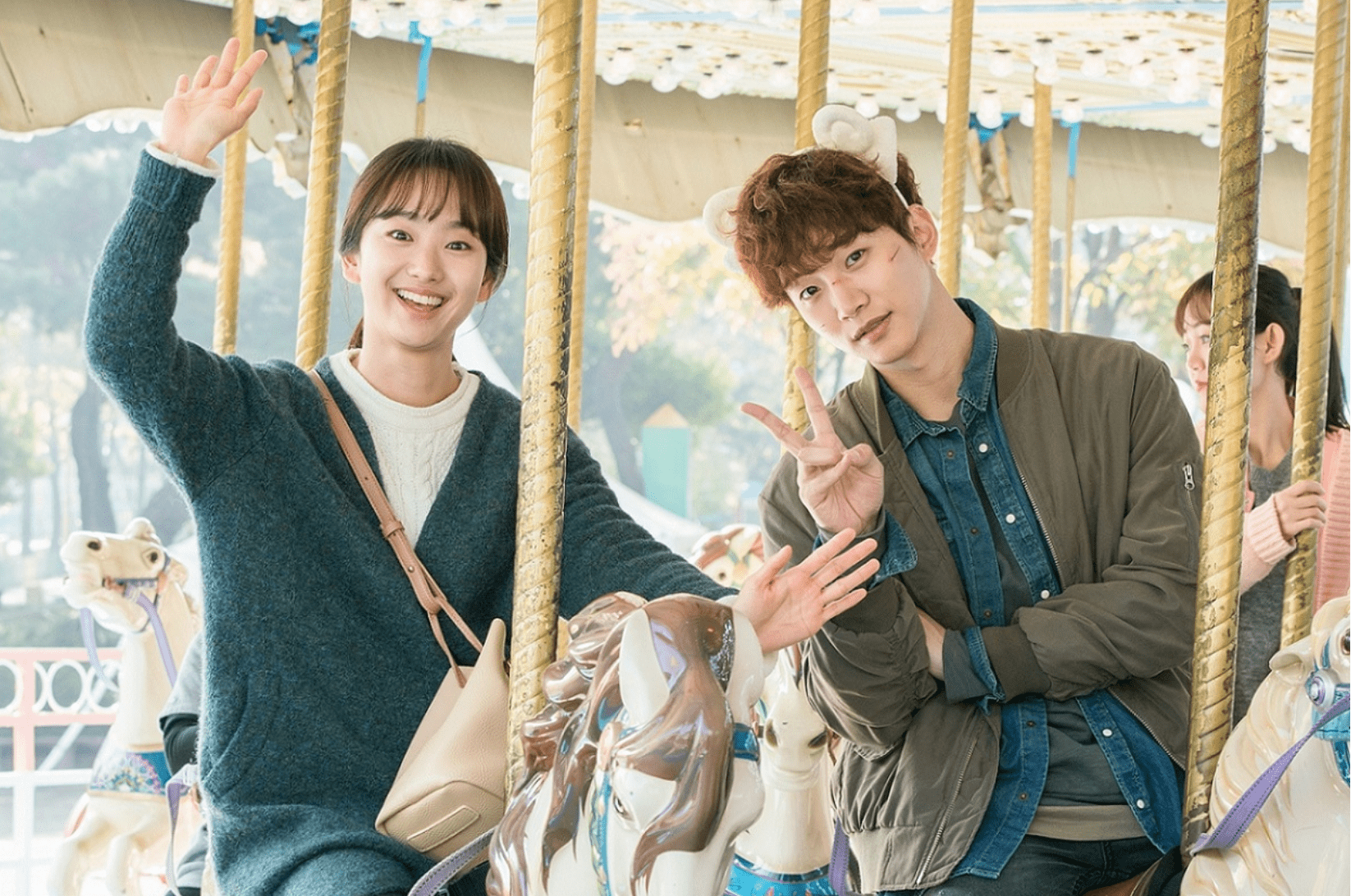 "2PM's Junho And Won Jin Ah Make A Cute Couple Wherever They Go On ""Just Between Lovers"""