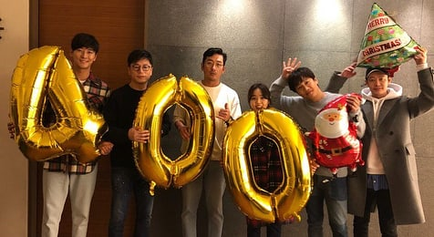 """Along With The Gods"" Cast Celebrates Breaking More Records After Reaching 4 Million Viewers"