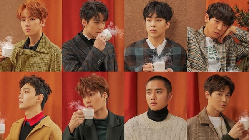 "EXO Tops Realtime Charts With ""Universe"" Soon After Its Release"