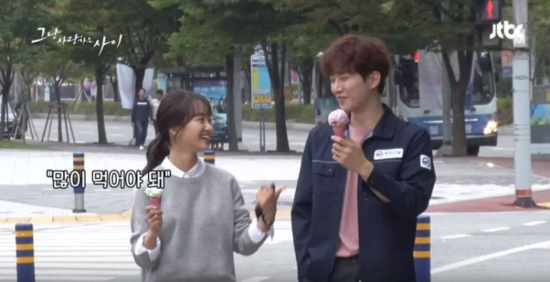 """Watch: Junho And Won Jin Ah Can't Stop Being Silly While Filming """"Just Between Lovers"""""""
