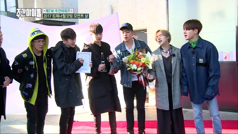 """Watch: iKON Shows Off Their Acapella Skills On """"Weekly Idol,"""" With Hilarious Results"""