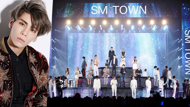 """SHINee's Jonghyun To Be Included In SMTOWN's Concert Audio Release Of """"Dear My Family"""""""