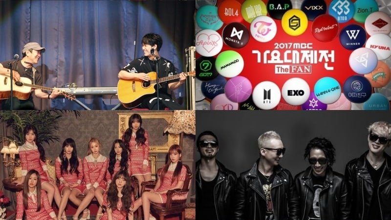 BTOB's Hyunsik And Father Im Ji Hoon, And Lovelyz And No Brain Preparing Special Stages For 2017 MBC Gayo Daejejun
