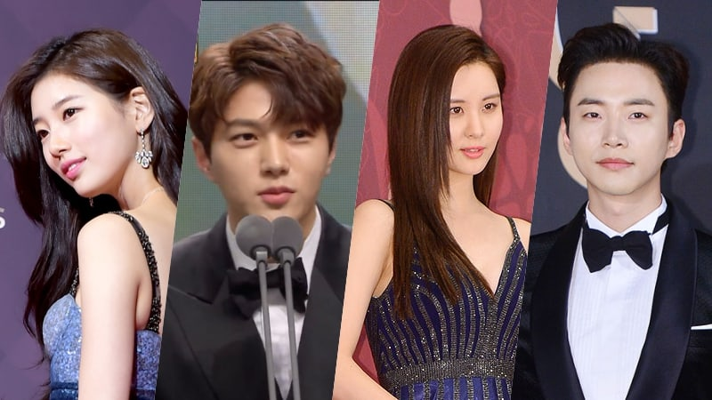 7 Idols That Won Acting Awards In 2017