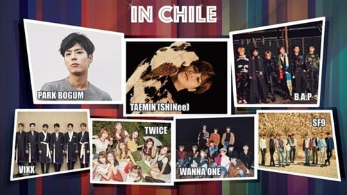 "Update: ""Music Bank"" Announces Changes To Lineup For World Tour Stop In Chile"