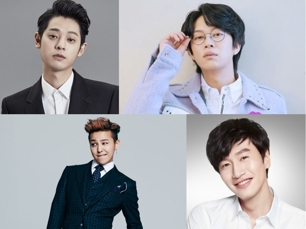 Male Celebrities With So Many Female Friends They Can T Be Bothered With Dating Rumors Soompi