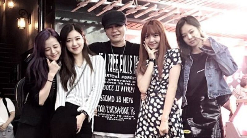 Yang Hyun Suk Wishes BLACKPINK's Jisoo Happy Birthday, Hints At New Song