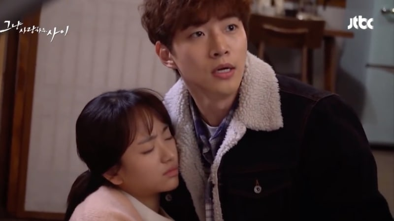 """Watch: 2PM's Junho Worries About Won Jin Ah's Safety While Filming """"Just Between Lovers"""""""