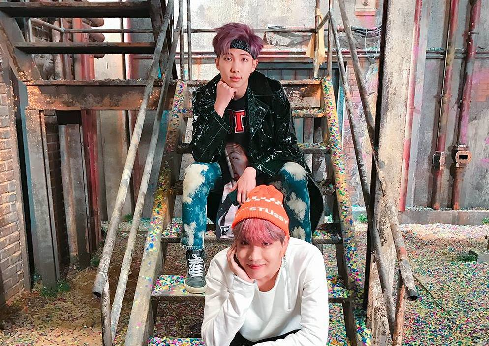 BTS's RM Raves About J-Hope's Upcoming Mixtape