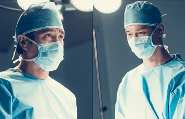 "Go Kyung Pyo And Jo Jae Hyun Are Intense Doctors In Upcoming Drama ""Cross"""