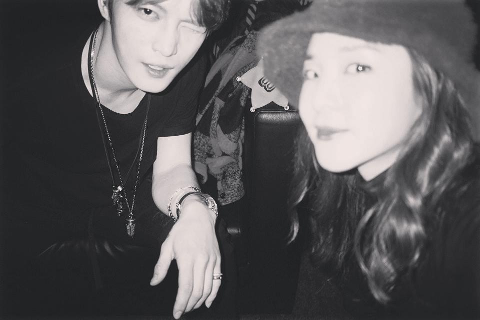 JYJ's Kim Jaejoong And Sandara Park Reunite After 10 Years