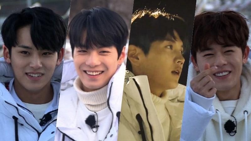 "SEVENTEEN's Mingyu, NU'EST's JR + Ren, And ZE:A's Kim Dong Jun Heat Up Pyeongchang In Final Episode Of ""Master Key"""