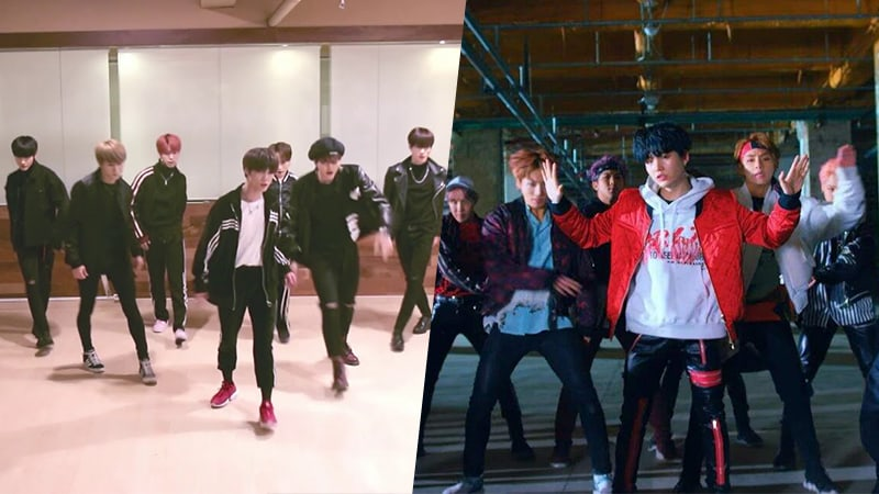 watch pre debut group target leaves promising impression with dance cover of btss
