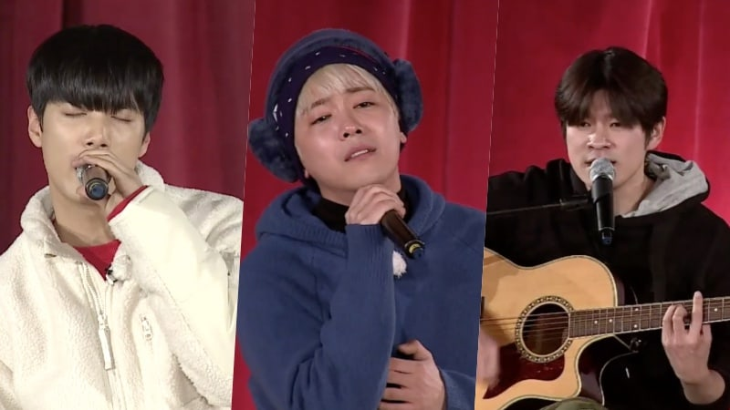 "Watch: NU'EST's JR, FTISLAND's Lee Hong Ki, And Jang Ki Ha Wow With Impromptu Concert On ""Night Goblin"""