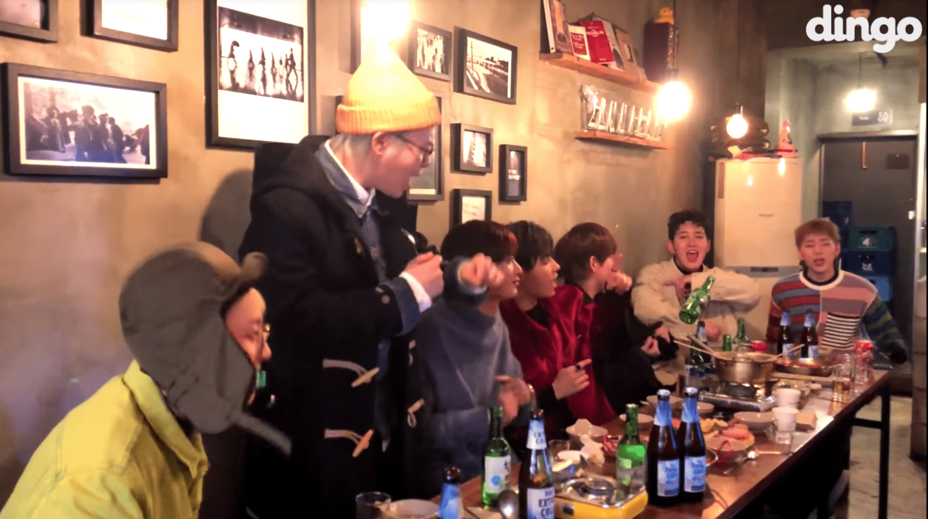 """Watch: Block B Has The Time Of Their Lives Singing Their Best Hits On """"TIPSY Live"""""""
