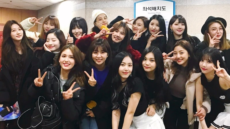 TWICE Members, Jeon Somi, Kim Sae Ron, And More Show Support At GFRIEND's Concert