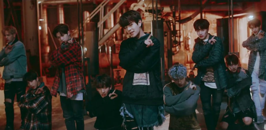 "Watch: Stray Kids ""Grrr"" In Performance Video For Track From Pre-Debut Album"