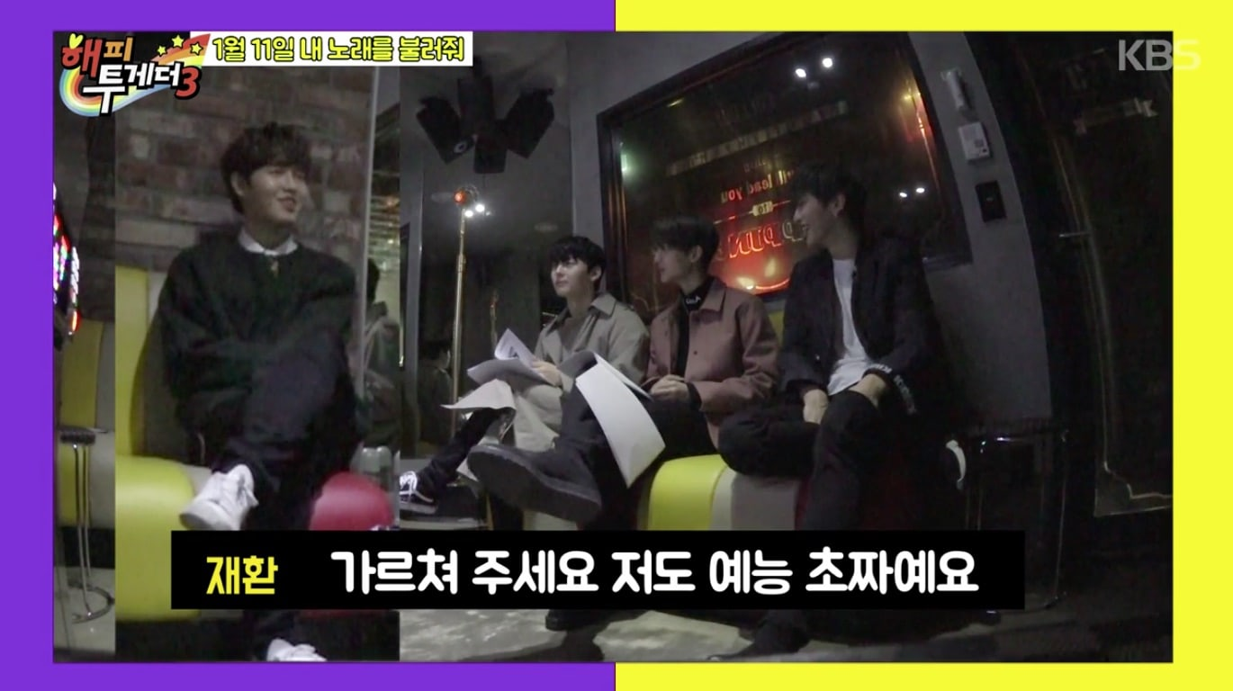Happy Together 2018 Wanna one meeting eng Sub Kshowonline