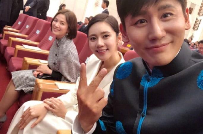 Chu Ja Hyun And Yu Xiaoguang Meet President Moon Jae In ...