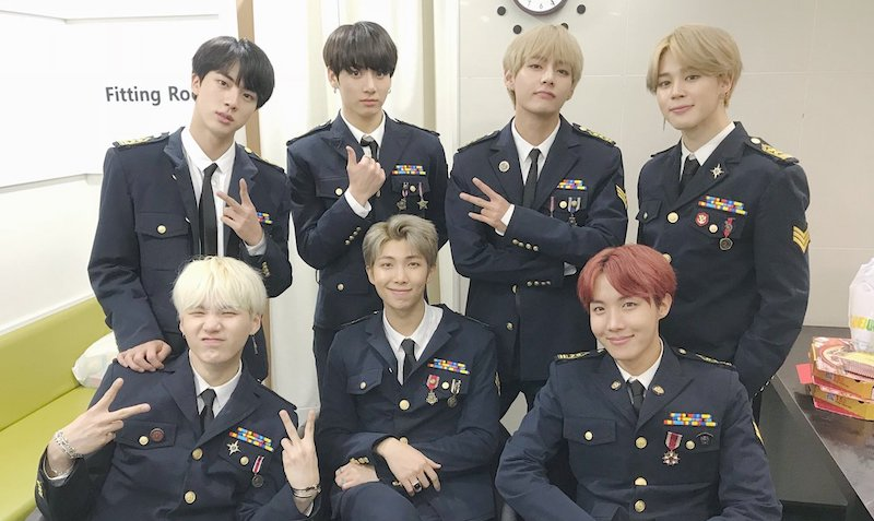 BTS Rises On Billboard's Charts + Sets New Record For K-Pop Groups