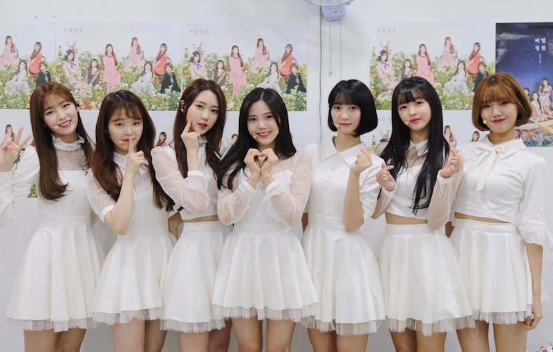 "Oh My Girl Has Great Realtime Chart Success With ""Secret Garden"""