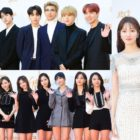 Stars Dazzle On The Red Carpet For 1st Day Of 32nd Golden Disc Awards