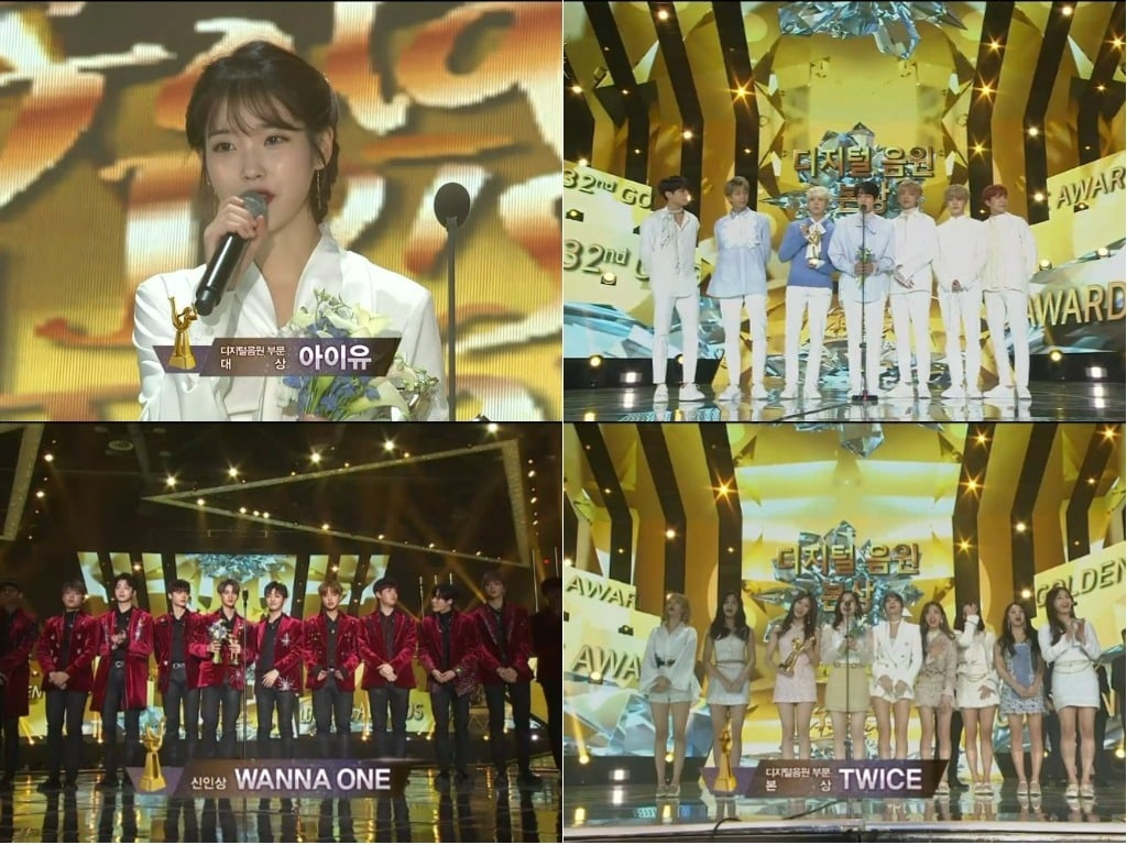 Winners Of The 32nd Golden Disc Awards Day 1