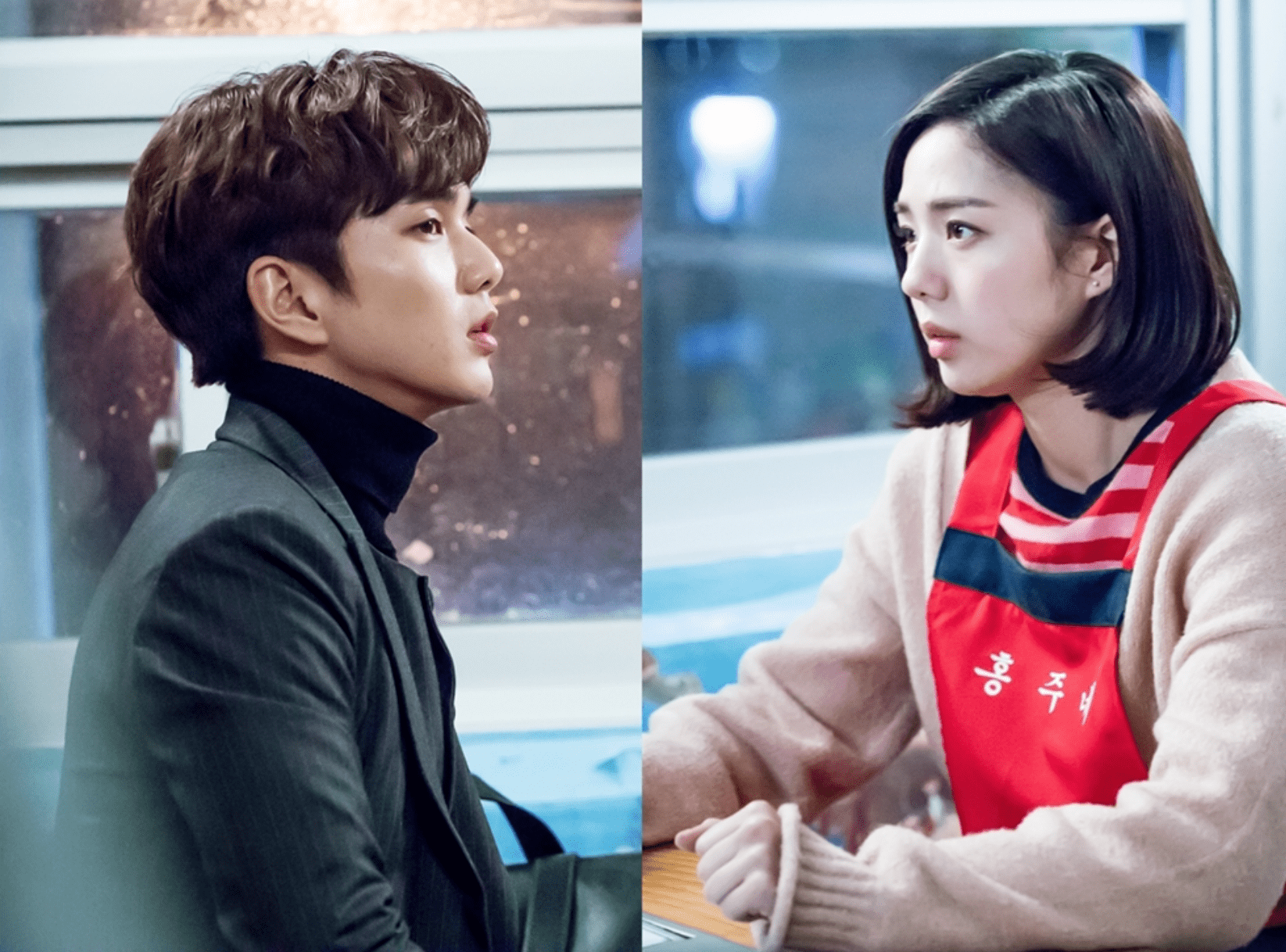 """Yoo Seung Ho Meets Up With A Transformed Chae Soo Bin In """"I Am Not A Robot"""""""