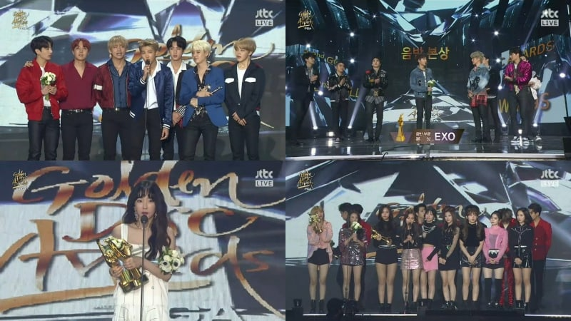 Winners Of The 32nd Golden Disc Awards Day 2