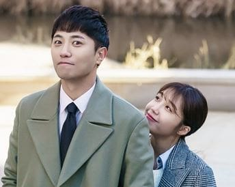 """Jin Goo and Jung Eun Ji Are An Adorable Duo Behind The Scenes Of """"Untouchable"""""""
