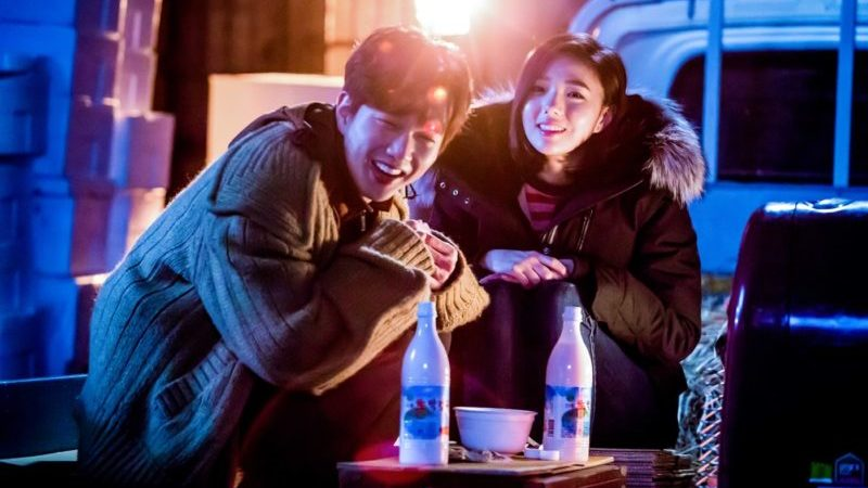 "Yoo Seung Ho And Chae Soo Bin Look Sweet And Happy Behind The Scenes Of ""I Am Not A Robot"""