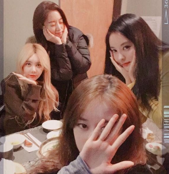 designer fashion good service popular stores T-ara Members Post Photo Together After Leaving MBK ...
