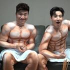 "Watch: Henry And Kim Jong Min Get ""Buff"" For Pilot Variety Show"