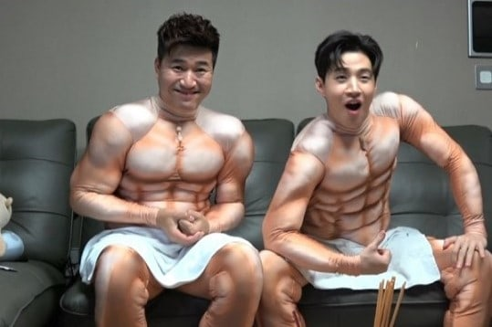 """Watch: Henry And Kim Jong Min Get """"Buff"""" For Pilot Variety Show"""