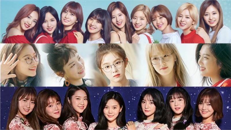 January Girl Group Brand Reputation Rankings Revealed