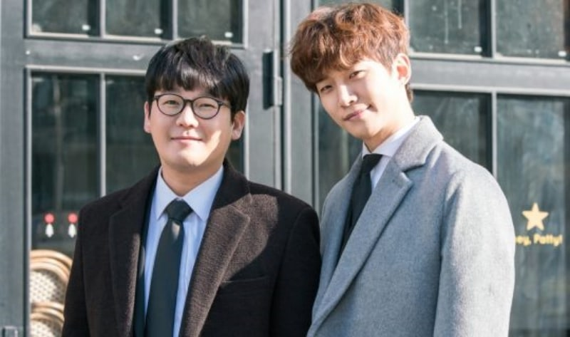 "2PM's Junho And Kim Kang Hyun Show Off Their Bromance In ""Just Between Lovers"" Stills"