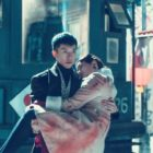 "Lee Seung Gi Holds Oh Yeon Seo In His Arms In New ""Hwayugi"" Stills"