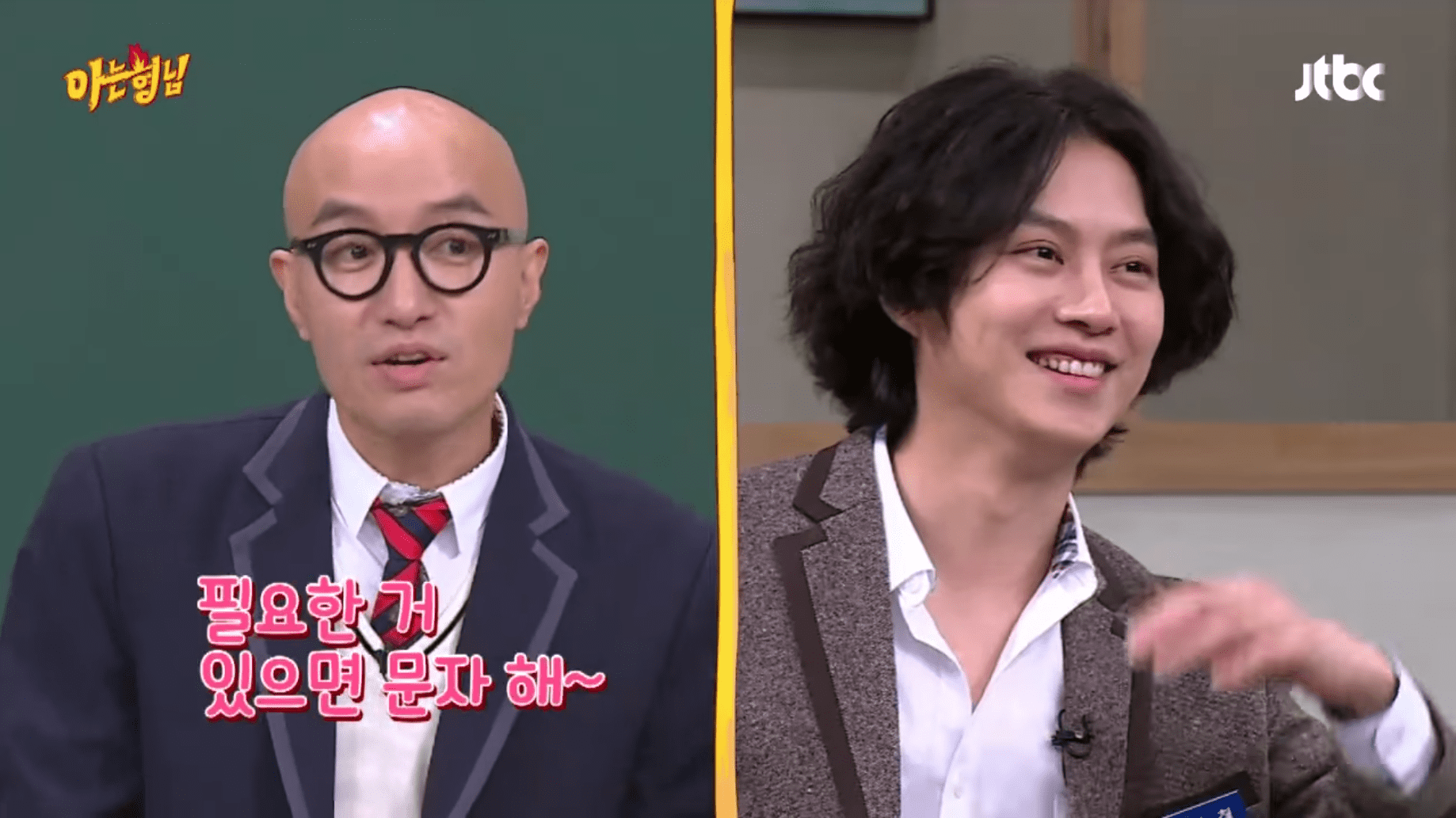 """Hong Suk Chun Tells """"Ask Us Anything"""" Cast About The Time Kim Heechul Brought A Girl To His Restaurant"""