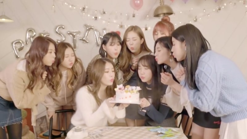 """Watch: PRISTIN Drops Special MV For """"The Summer Night"""" To Celebrate 300th Day Since Debut"""