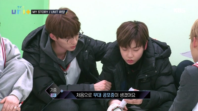 "BIGSTAR's Raehwan Comforts IM's Kijoong With His Voice Struggles On ""The Unit"""