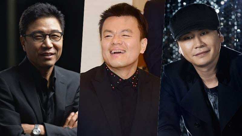 Lee Soo Man's And Park Jin Young's Company Stock Values Rise Sharply