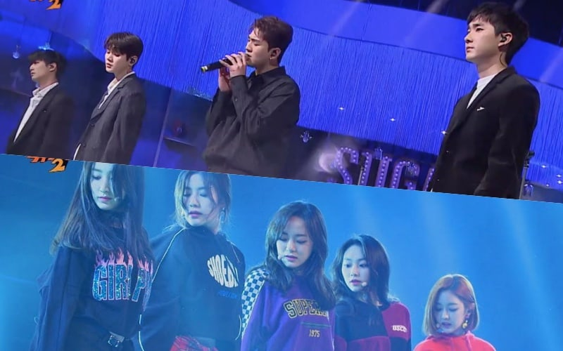 """Watch: NU'EST W and gugudan Give Old Hits A 2018 Upgrade And Impress On """"Sugar Man 2"""""""